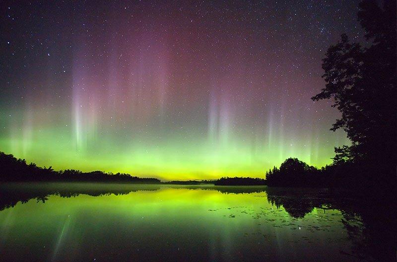 Aurora see in Wisconsin
