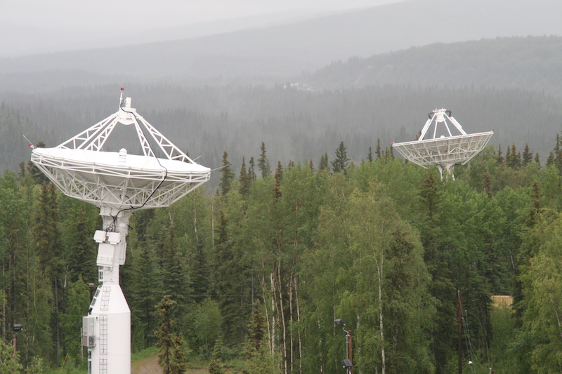 Antenna of NASA Near Earth Network