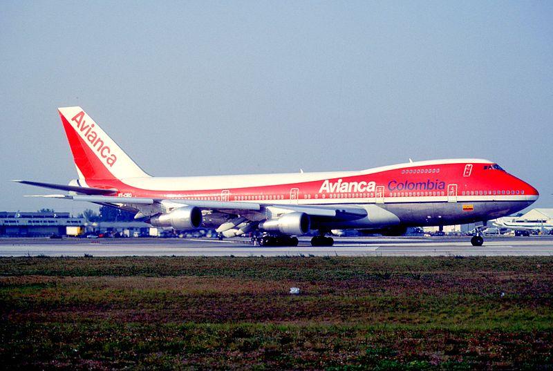 Avianca 747 Plane